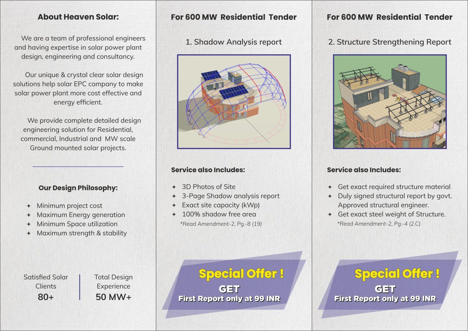 SHADOW ANALYSIS & STRUCTURE DESIGN SERVICE