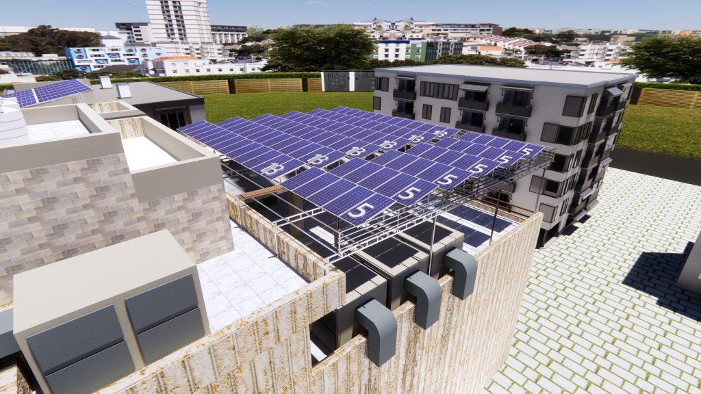 Rendered Solar Design Images