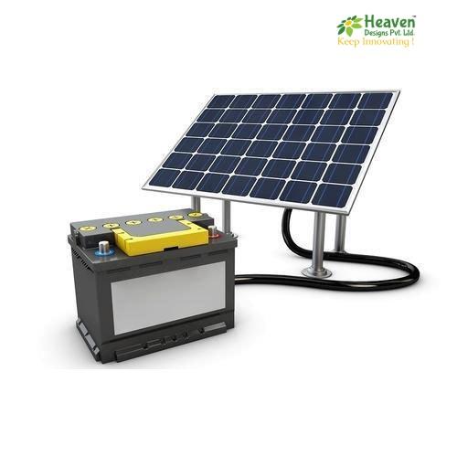 Solar Battery For Power Storage