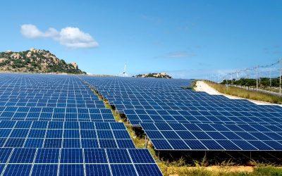 Ground mount solar plant design